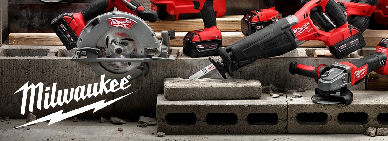 Milwaukee power tools at Bradfords