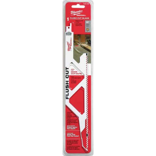 Milwaukee Sawzall 12 In. 5 TPI Wood Flush Cut Reciprocating Saw Blade