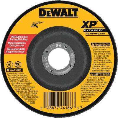 DeWalt HP Type 27 7 In. x 0.045 In. x 7/8 In. Metal/Stainless Notching Cut-Off Wheel