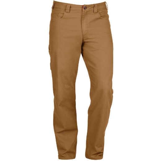 Milwaukee Flex Khaki 32 x 30 Heavy-Duty Work Pants